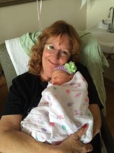 Blogger & grand daughter